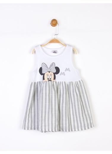 Minnie Mouse   Çocuk Elbise 18110 Gri